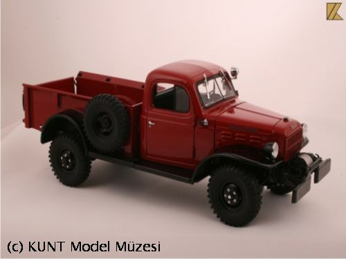 1946 Red Dodge Power Wagon
